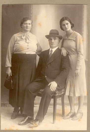 My Mother and her Parents